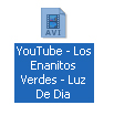 Youtube, video descargado
