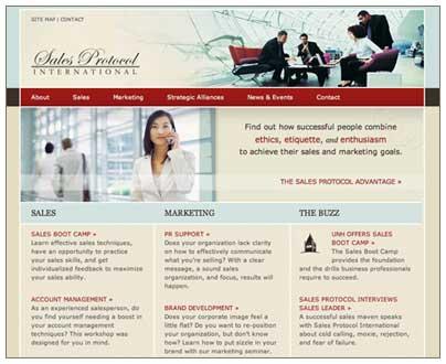 Estructura de un sitio web