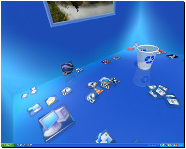 Real Desktop, un escritorio 3D para Windows XP
