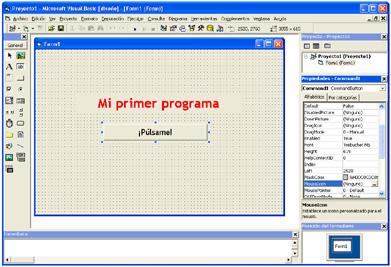 """Visual Basic: """"Mi primer"""