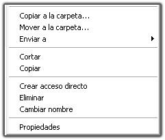 Añadir opción Copiar a carpeta en menú contextual