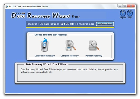 Recuperar archivos borrados por accidente con Data Recovery Wizard  Free Edition
