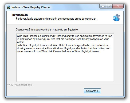 Wise Registry Cleaner - Paso 9