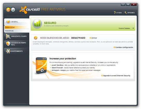 Avast! Antivirus (Gratis) 5.0.677