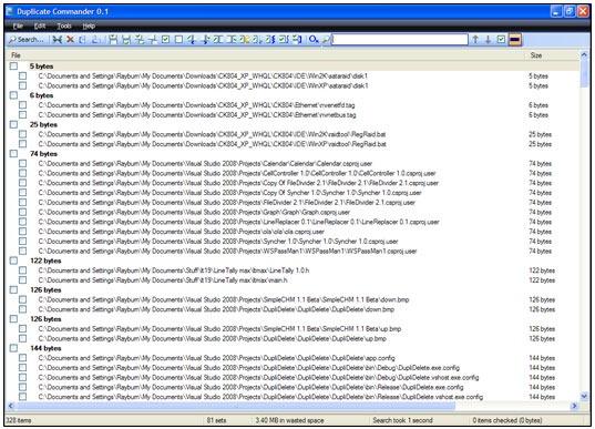 Buscador de archivos duplicados en Windows 7