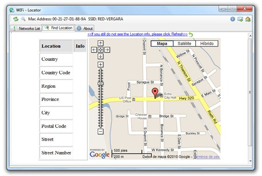 Wi-Fi Locator