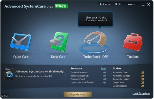 Advanced SystemCare 4