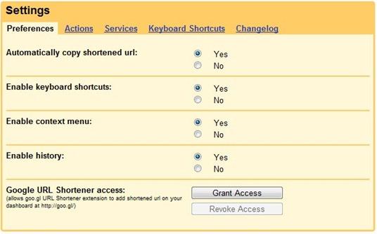 goo.gl URL Shortener