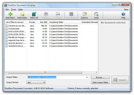 Doxilion Document Converter