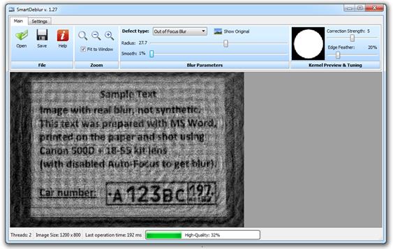 SmartDeblur: Arreglar fotos borrosas o desenfocadas (Libre)