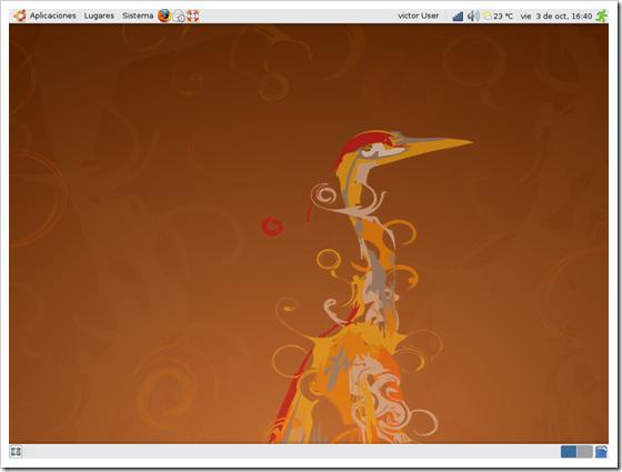 Linux Ubuntu.